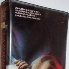 Cine: LA MALDICION DEL SHAMAN VHS - SERIE B,TERROR DE LOS 80 UNICA EN TODOCOLECCION ¡¡REBAJADA 20%!!. Lote 57794461