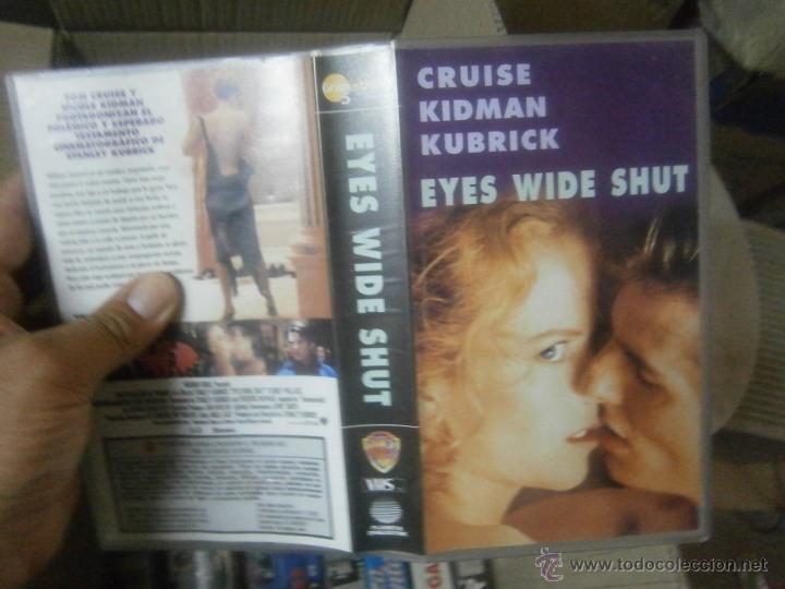EYES WIDE SHUT -VHS (Cine - Películas - VHS)