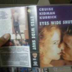 Cine: EYES WIDE SHUT -VHS. Lote 39656625