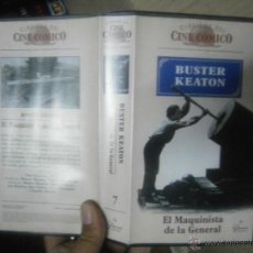 Cine: LA MAQUINISTA DE LA GENERAL /BUSTER KEATON -VHS. Lote 39663108