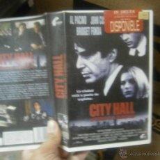 Cine: CITY HALL-VHS. Lote 39730106
