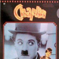 Cine: CHAPLIN 1916-1917. 12 PELÍCULAS - 3 VHS. Lote 39735002
