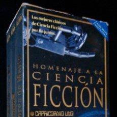 Cine: HOMENAJE A LA CIENCIA FICCIÓN: CAPRICORNIO UNO, SATURNO 3,LOS INVASORES DE MARTE - 3 VHS ED.LIMITADA. Lote 39739131