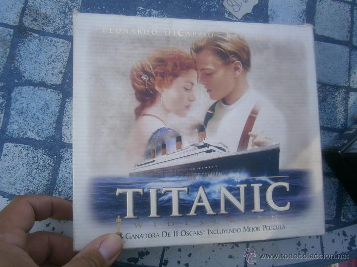 COLECCION -TITANIC -VHS PELICULA +POSTER (Cine - Películas - VHS)