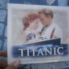 Cine: COLECCION -TITANIC -VHS PELICULA +POSTER. Lote 39727791