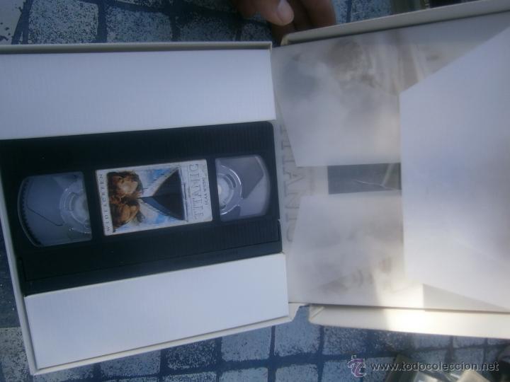 Cine: COLECCION -TITANIC -VHS PELICULA +POSTER - Foto 2 - 39727791
