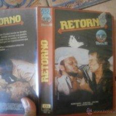 Cine: RETORNO -VHS. Lote 39761530