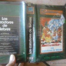 Cinema: ABBOT Y COSTELLO /LOS CAZADORES DE LIEBRES -VHS. Lote 39799999