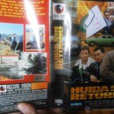 Cine: HUIDA SIN RETORNO -VHS. Lote 39817495
