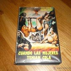 Cine: PELICULA VHS CUANDO LAS MUJERES TENIAN COLA ITALIANADA SEXY PICANTE P FESTA CAMPANILE JOYA TRASH. Lote 39909917