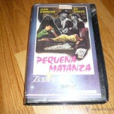 Cine: PEICULA PEQUEÑA MATANZA VHS TERROR JEAN SIMMONS ED ASNER 96´APROX 1984. Lote 39915935