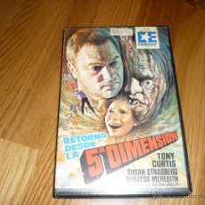 Cine: PELICULA VHS RETORNO DESDE LA QUINTA DIMENSION TONY CURTIS SUSAN STRASBERG / TERROR. Lote 39932430