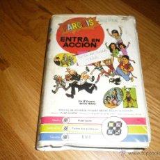 Cine: VHS ENTRA EN ACCION JAVIER AGUIRRE - RICARDO MERINO - PARCHI. Lote 39934913