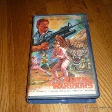 Cine: PELICULA VHS ROYAL WARRIORS. Lote 39977070