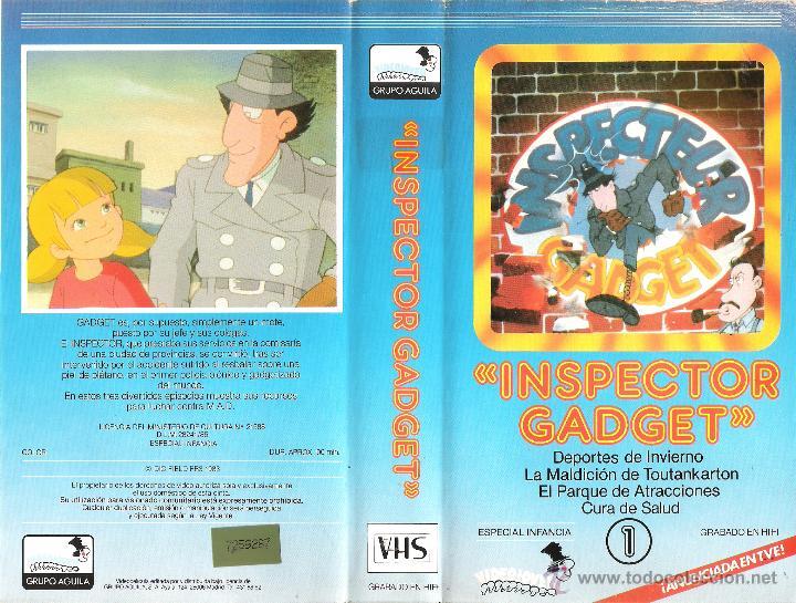 VHS INSPECTOR GADGET - NUMERO1 LEER MAS....... (Cine - Películas - VHS)