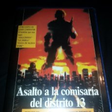 Cine: ASALTO A LA COMISARÍA DEL DISTRITO 13 (1976) - JOHN CARPENTER - VHS - VIDEO CLUB CERES HOME VIDEO. Lote 40254959