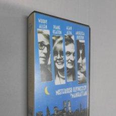 Cine: MISTERIOSO ASESINATO EN MANHATTAN***WOODY ALLEN**PELICULA VHS. Lote 40471591