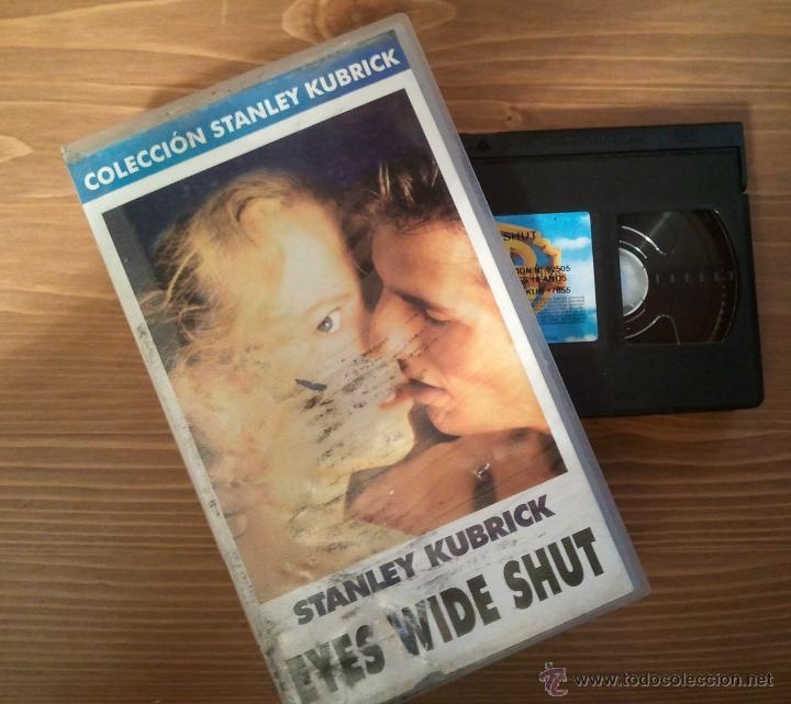 CINTA VHS ORIGINAL EYES WIDE SHUT STANLEY KUBRICK PELÍCULA DE CULTO AÑO 1999 (Cine - Películas - VHS)