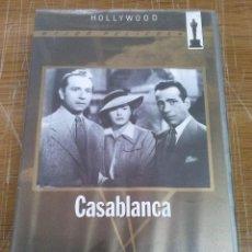 Cine: HUMPHREY BOGART.CASABLANCA-VHS. Lote 40533176