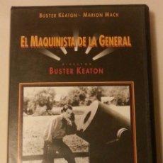 Cine: PELÍCULA VHS - EL MAQUINISTA DE LA GENERAL. Lote 40544538