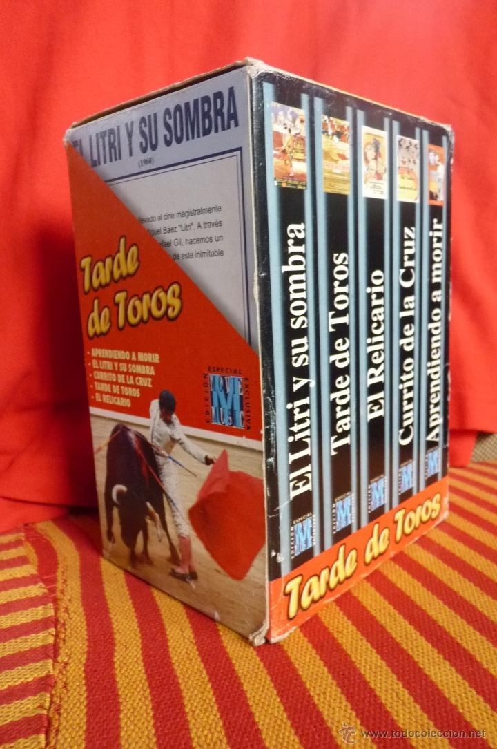De Vídeos Tarde Toros Cinco TauromaquiaPreciosa Colección Peliculas Vhs mn0v8wNOy
