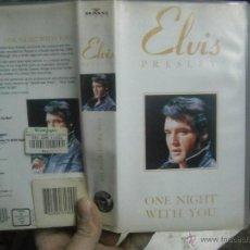 Cine: ELVIS PRESLEY -VHS. Lote 40776508