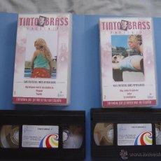 Cine: LOTE 2 CINTAS VIDEO VHS: TINTO BRASS (CUENTOS, Nº 1 Y 2) FILMAX ¡COLECCIONISTA!. Lote 40899933
