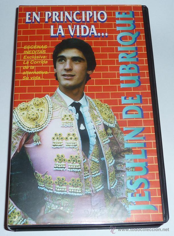 JESULIN DE UBRIQUE, EN PRINCIPIO LA VIDA... MUY RARA CINTA DE VIDEO VHS 1995 TORERO TOROS TOREO (Cine - Películas - VHS)