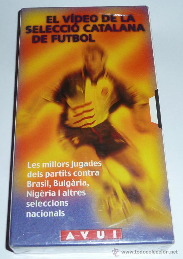 EL VIDEO DE LA SELECCIO CATALANA DE FUTBOL.PRECIN SELECCION DE CATALUÑA CINTA DE VIDEO VHS CATALUNYA (Cine - Películas - VHS)