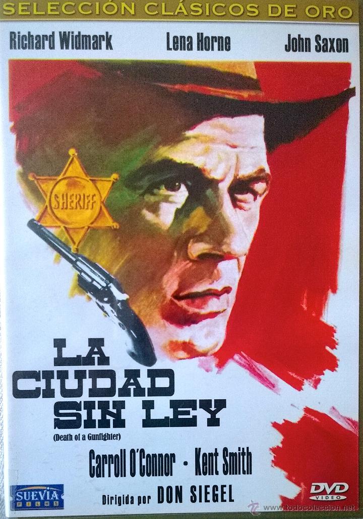 LA CIUDAD SIN LEY -.RICHARD WIDMARK-LENA HORNE- UN WESTERN DE DON SIEGEL- CON LIBRETO 32 PÁGINAS (Cine - Películas - VHS)