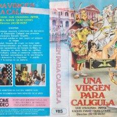 Cine: VHS\. UNA VIRGEN PARA CALIGULA | DVD GRATIS\ CLASIFICADA 'S (1982) | SUPER-DESCATALOGADA\ TOP. Lote 41067198