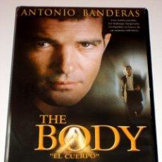 Cine: THE BODY - EL CUERPO (2000) - ANTONIO BANDERAS OLIVIA WILLIAMS VHS. Lote 41132127