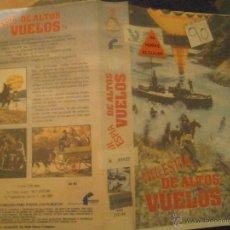 Cine: CON ESPIA DE ALTOS VUELOS -VHS. Lote 41161326