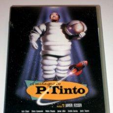 Cine: EL MILAGRO DE P. TINTO (1998) - JAVIER FESSER LUIS CIGES SILVIA CASANOVA VHS. Lote 41193952