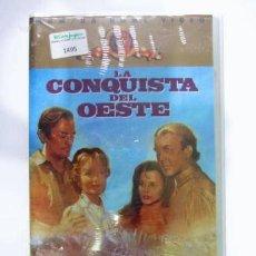 Cine: VIDEO VHS LA CONQUISTA DEL OESTE - PRECINTADO. Lote 41250279