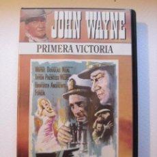 Cine: PRIMERA VICTORIA. JOHN WAYNE. OTTO PREMINGER. VHS.. Lote 41328628