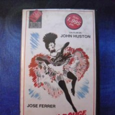 Cine: MOULIN ROUGE. JOHN HUSTON. VHS.. Lote 41341522