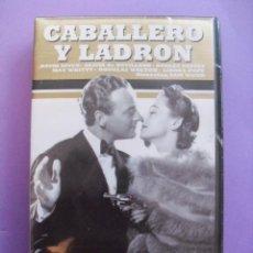 Cine: CABALLERO Y LADRON. SAM WOOD. 1939,REINO UNIDO. VHS,PRECINTADA.. Lote 41344908