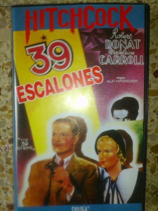 ALFRED HITCHCOCK 39 ESCALONES 1935 PERFECTA (Cine - Películas - VHS)
