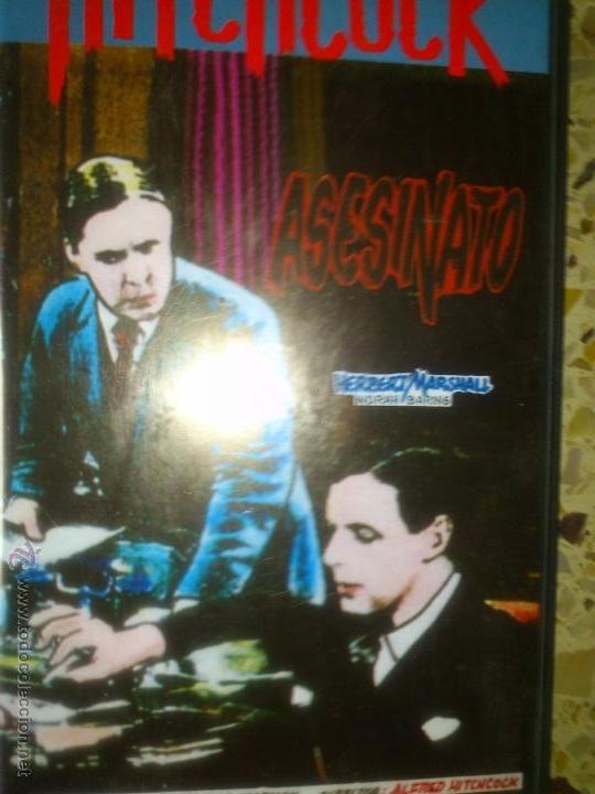 ALFRED HITCHCOCK ASESINATO 1930 PERFECTO ESTADO VHS (Cine - Películas - VHS)