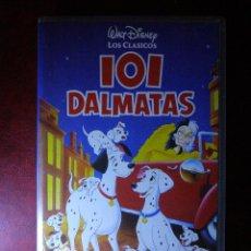 Cine: PELICULA - 101 DALMATAS -VHS - ORIGINAL - WALT DISNEY -. Lote 41356387