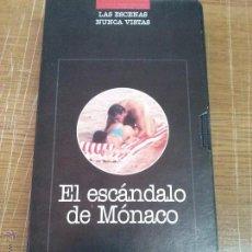 Cine: EL ESCANDALO DE MONACO-VHS. Lote 40534978