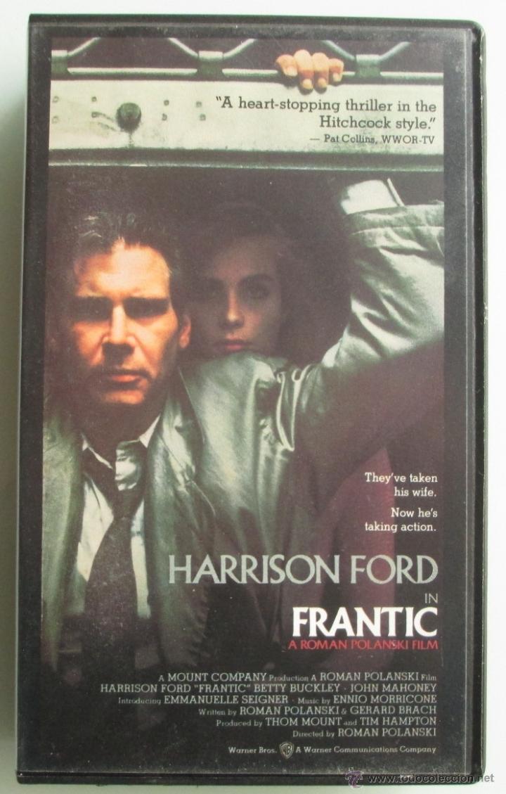 FRANTIC - ROMAN POLANSKI - HARRISON FORD - VHS - 1989 (Cine - Películas - VHS)
