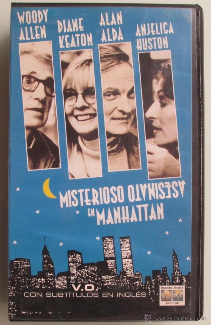 MISTERIOSO ASESINATO EN MANHATTAN - WOODY ALLEN - 1994 - VHS (Cine - Películas - VHS)