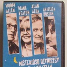 Cine: MISTERIOSO ASESINATO EN MANHATTAN - WOODY ALLEN - 1994 - VHS. Lote 41501549