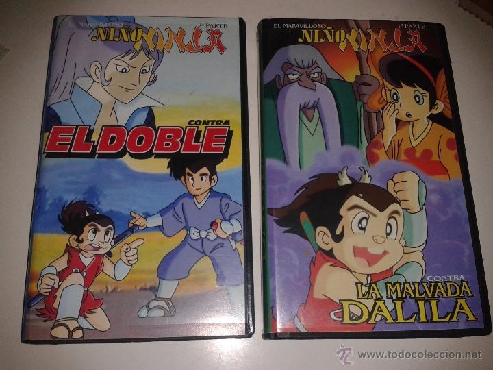 EL MARAVILLOSO NIÑO NINJA - 2 CINTAS - 1ª Y 2ª PARTE (Cine - Películas - VHS)