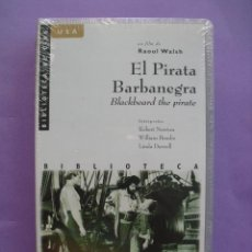 Cine: EL PIRATA BARBANEGRA. RAOUL WALSH, 1952. VHS, PRECINTADA.. Lote 41573280
