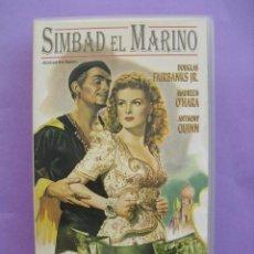 Cine: SIMBAD EL MARINO. RICHARD WALLACE,1947. VHS.. Lote 41573690