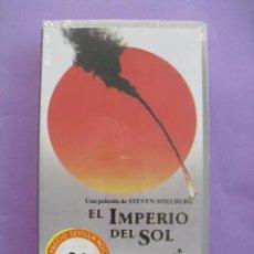 Cine: EL IMPERIO DEL SOL. STEVEN SPIELBERG, 1987. VHS, PRECINTADA.. Lote 41575442