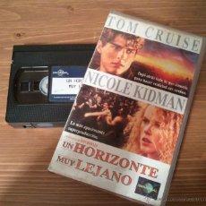 Cine: CINTA VHS ORIGINAL UN HORIZONTE MUY LEJANO CON TOM CRUISE Y NICOLE KIDMAN. Lote 41597117